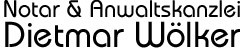Notar & Anwaltskanzlei Dietmar Wölker
